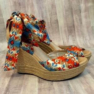 UGG Lucianna Wrap Wedges